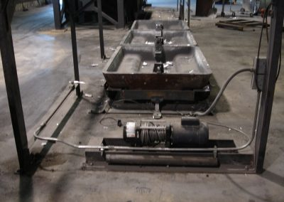 Sow mold track