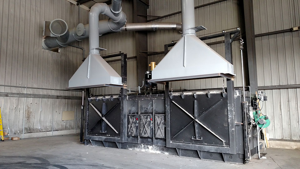 Recycling Services International - Precious Metal Furnace